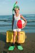 Summer vacation - travel destination, beach resort