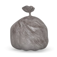 3d render of garbage bag