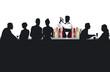 Cocktail-Bar mit Barkeeper