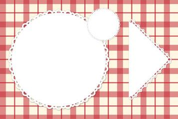 Placemat menu