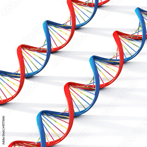 2 Dna helix strand genetic cells isolated medical research