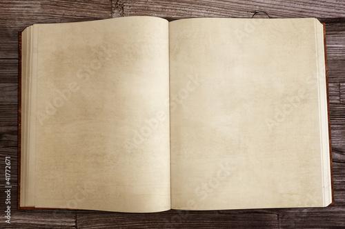 Leinwanddruck Bild Old Book