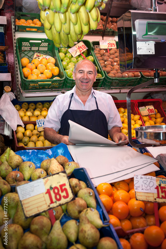 Friendly greengrocer