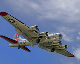 B17 coming in for a landing