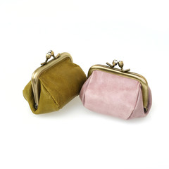 Leather wallets for coins