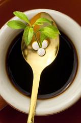 Stevia rebaudiana, Tabletten