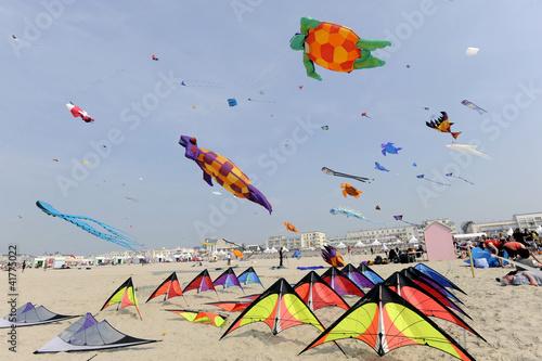 Papiers peints Aerien festival du cerf-volant