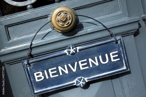 Bienvenue, accueil, tourisme, France, hôtel, pension - 41777401