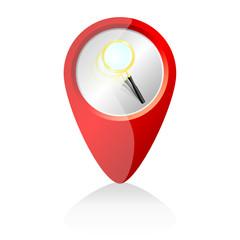 search web icon vector illustration