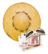sun hat sunglasses euros