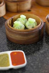 Green Streamed Dumpling