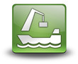 "Green 3D Effect Icon ""Harbor"""