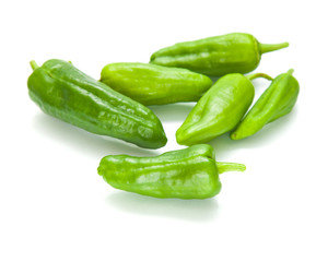 "small ""padron peppers"", pimiento de padron"