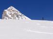 Ski de randonnée face à la Tsanteleina - 3602 m
