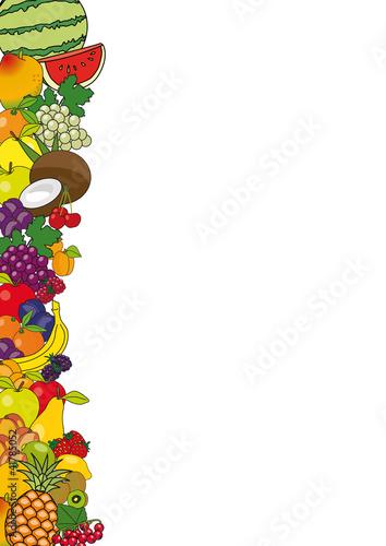 Fruits_Frise