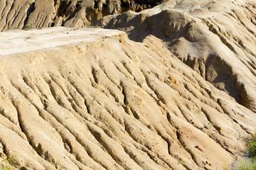 Soil erosion due to overgrazing leading