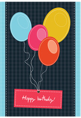 textile birthday background