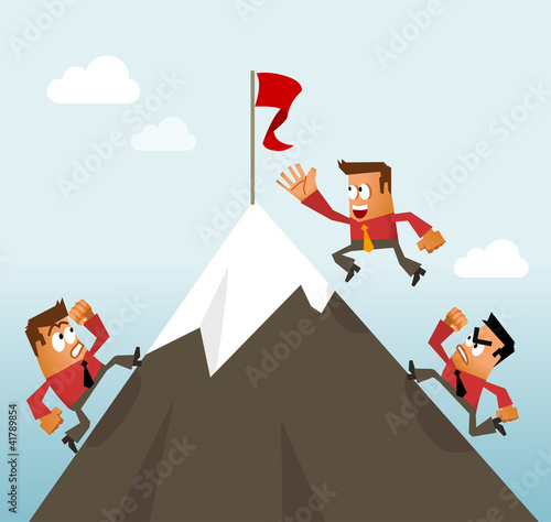 Climbing to the Top Career