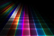 Abstract disco floor background