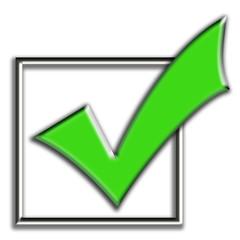 Símbolo - produto aprovado