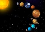 Fototapety solar system