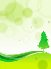 Ecology  Tree  background, Vector