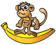 monkey Muscle cartoon