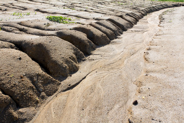 Soil erosion to overgrazing leading