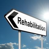 Rehabilitation concept. poster