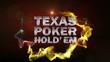 POKER HOLD'EM Text in Particle (Double Version) - HD1080