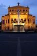 Leinwanddruck Bild - Frankfurt am Main, Alte Oper (2012)
