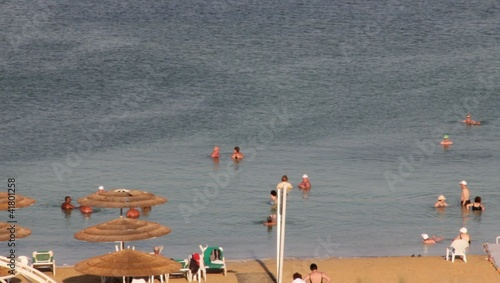 Dead Sea beach, Israel