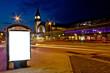 Leinwanddruck Bild - Leucht Reklame