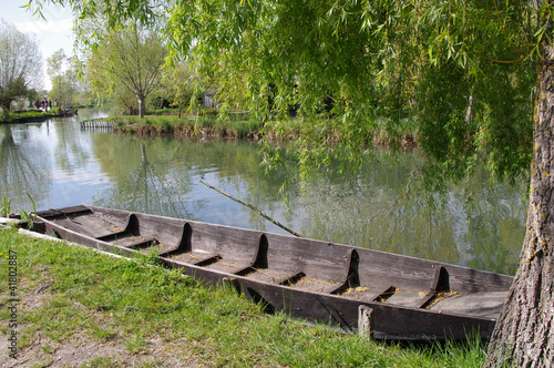 canvas print picture Les marais de Bourges