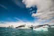 Icebergs at Jokulsarlon. Iceland