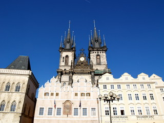 Church of Our Lady before Tyn at Prague, Old Town Square