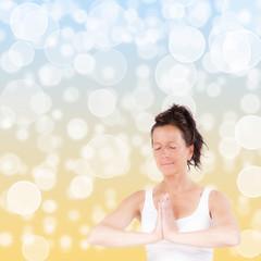 Seifenblasen Yoga