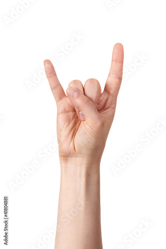 I Love You Hand Gesture