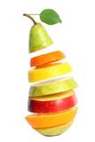 Fototapety Mixed fruit