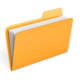 Fototapety Yellow folder