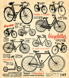 Fototapety fond vélo
