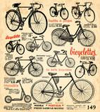 Fototapeta fond vélo