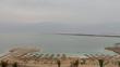 Beach and Dead Sea landscape