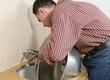 Kitchen tap installation