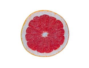 Scheibe einer Grapefruit
