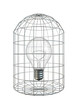 Caged bulb