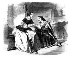 Juliet & Romeo - Renaissance 16th century