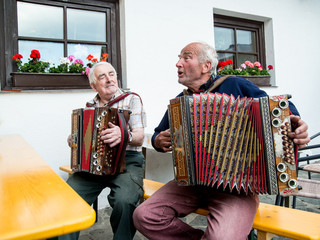 Senioren musizieren