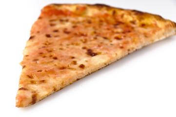 Pizza margherita al taglio