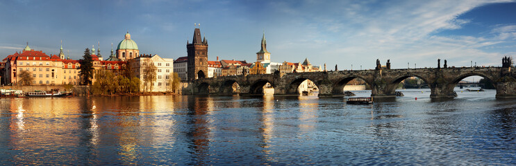 Charles Bridge in the Prague